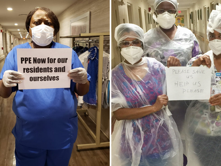 'We Were Abandoned' Nurses Organize for Their Lives