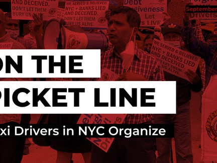 Taxi Drivers Organize | On the Picket Line September 22, 2020