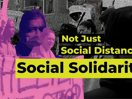 Amid Social Distancing, an Outpouring of Social Solidarity