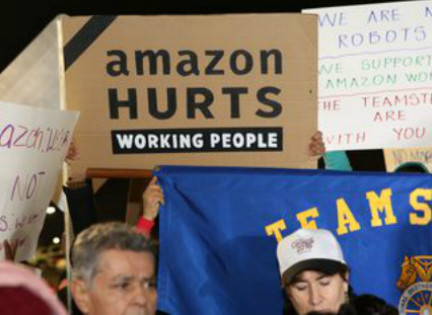 Teamsters Take On Amazon