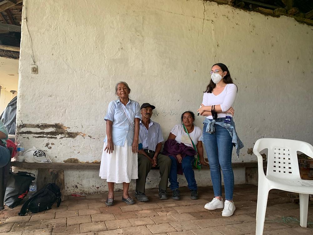 Gabriela, a decades-long farmer and organizer of the department of Cauca.