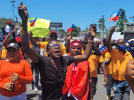 Inside the Protests Rocking Haiti