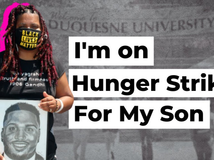 Hunger Striking Black Mom Seeks Answers in Son's Death