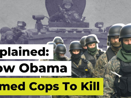 Explained: How Obama Militarized The Police