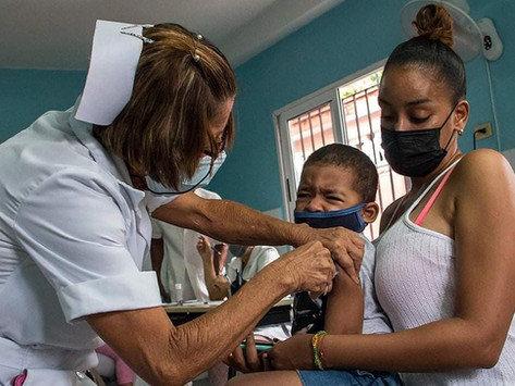 Despite the Odds: Cuba's Vaccines Effective & Set for 93% Rate by Nov 2021
