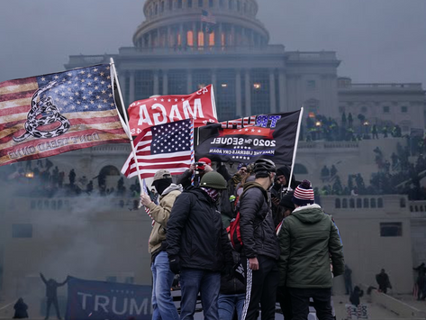 Chaos in DC: This IS America