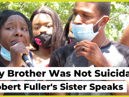 My Brother Was Not Suicidal': Robert Fuller's Sister Speaks