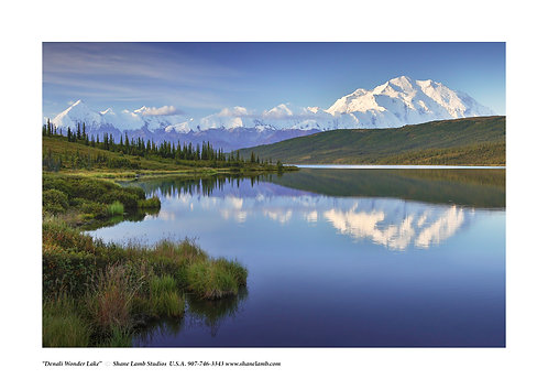 Denali Wonder Lake (paper)