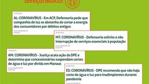 Coronavírus: o trabalho da Defensoria Pública nos Estados não para