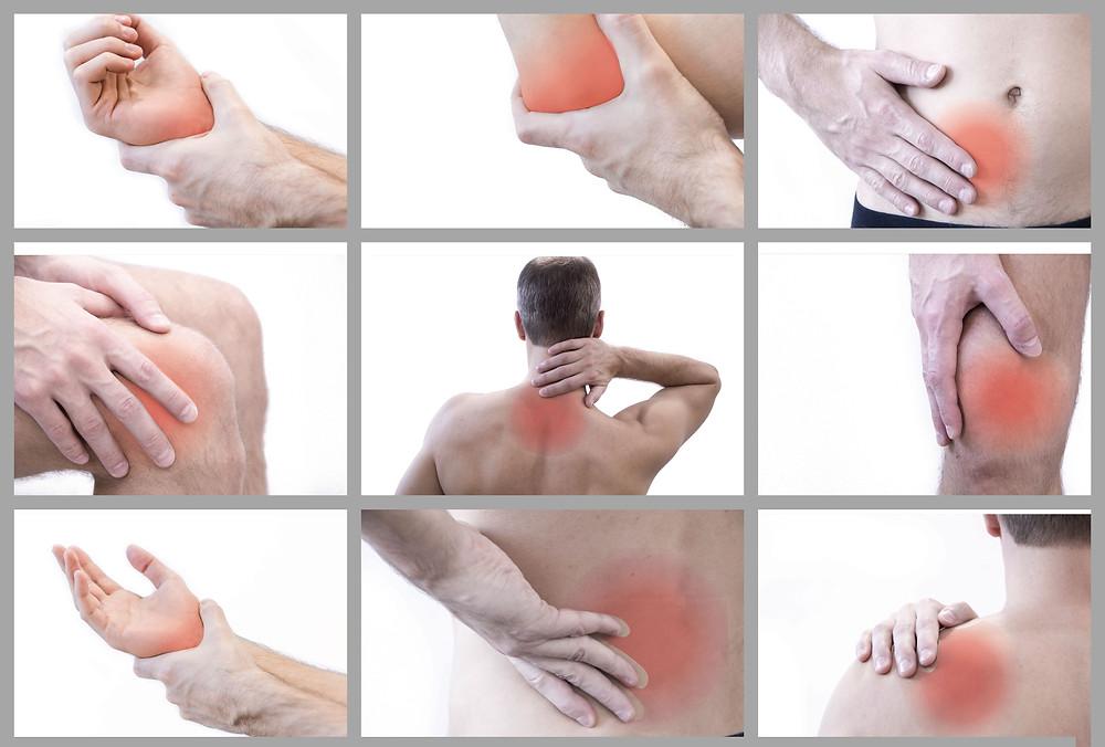 spierpijn, spanning, massage
