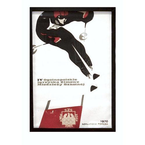 Poster Ski Campeonato Polônia