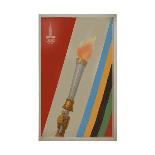 Poster Olimpiadas- Moscow