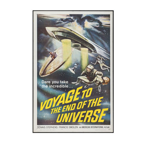 Poster Voyage to the End of the Universe
