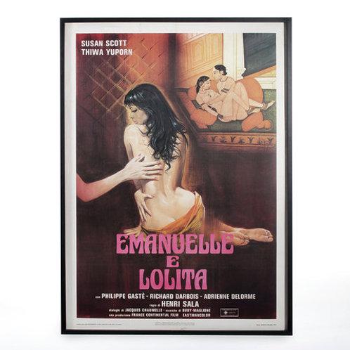 Poster Emanuelle e Lolita