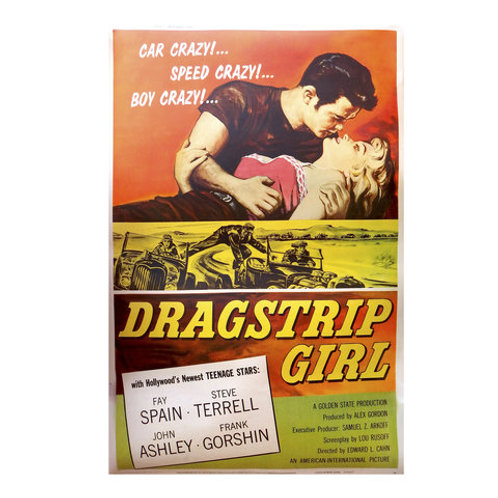 Poster Dragstrip Girl
