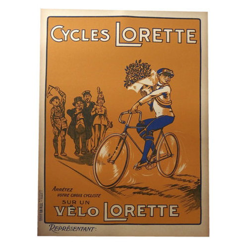 Poster Cycles Lorette