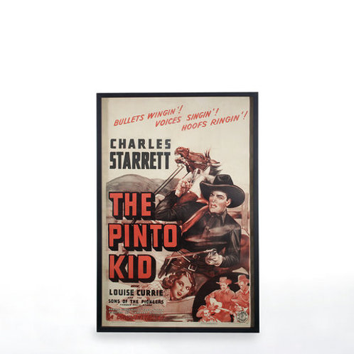 Poster The Pinto Kid