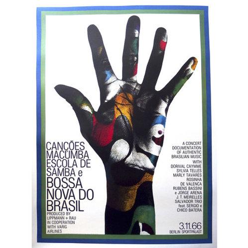 Poster Bossa Nova do Brasil