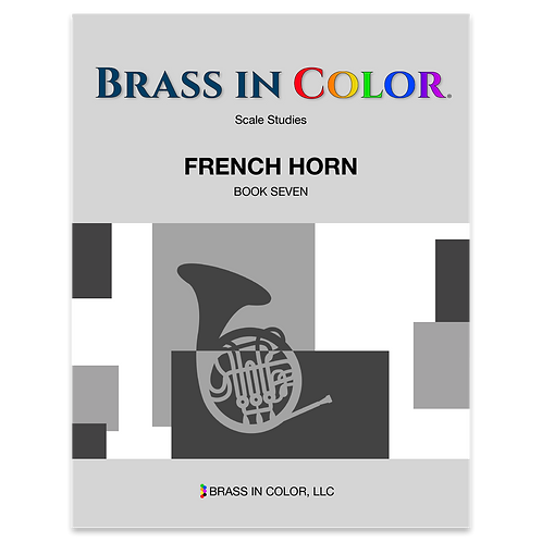 Scale Studies: French Horn Book 7