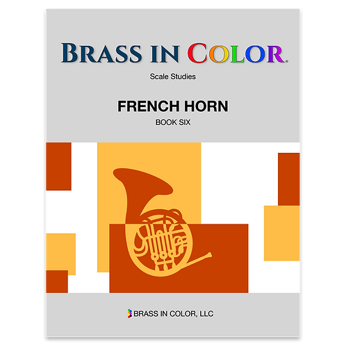Scale Studies: French Horn Book 6