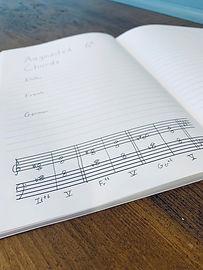 Practice Journal & Notebook