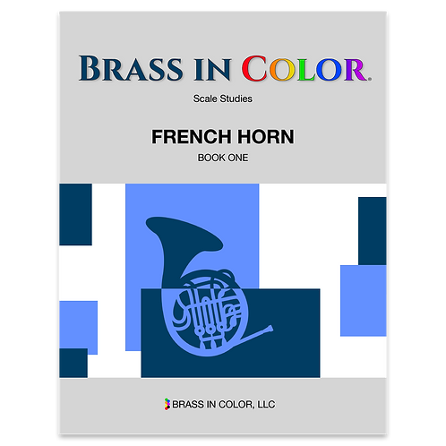 Scale Studies: French Horn Book 1