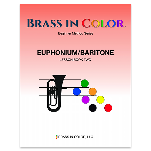 Euphonium and Baritone: Lesson Book 2