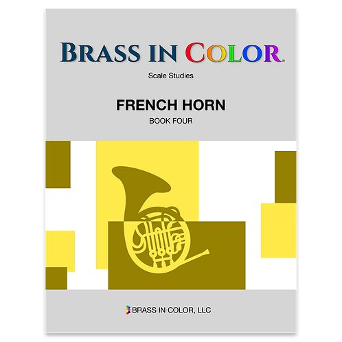 Scale Studies: French Horn Book 4