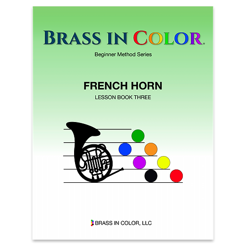 French Horn: Lesson Book 3