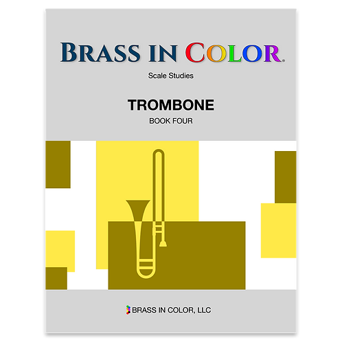 Scale Studies: Trombone Book 4