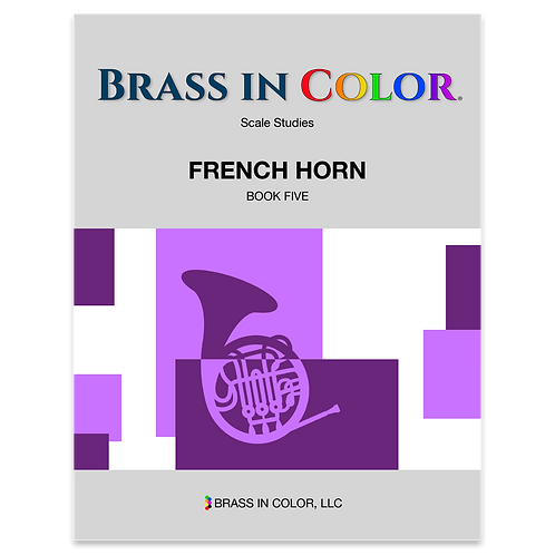 Scale Studies: French Horn Book 5