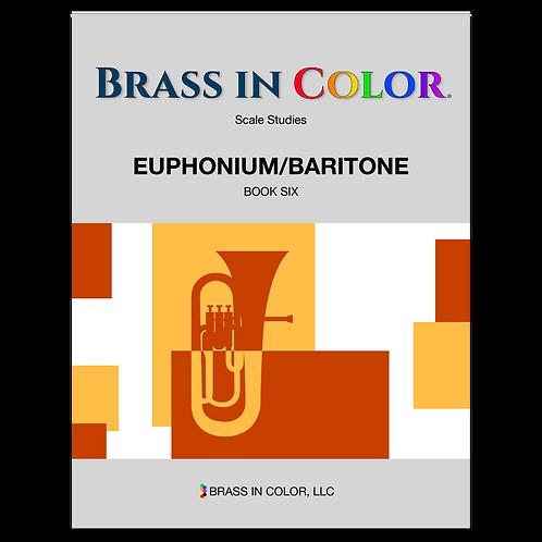 Scale Studies: Euphonium and Baritone Book 6