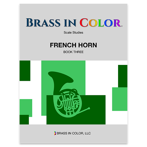 Scale Studies: French Horn Book 3