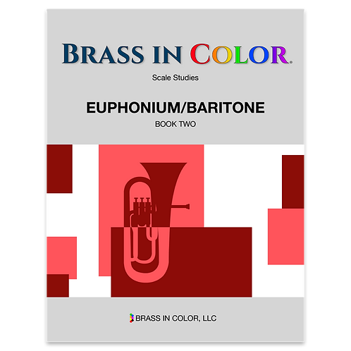 Scale Studies: Euphonium and Baritone Book 2