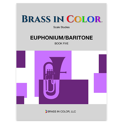 Scale Studies: Euphonium and Baritone Book 5