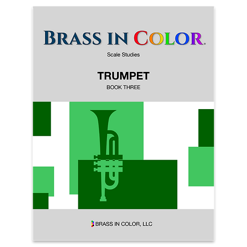 Scale Studies: Trumpet Book 3