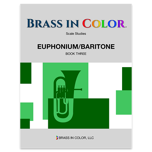 Scale Studies: Euphonium and Baritone Book 3