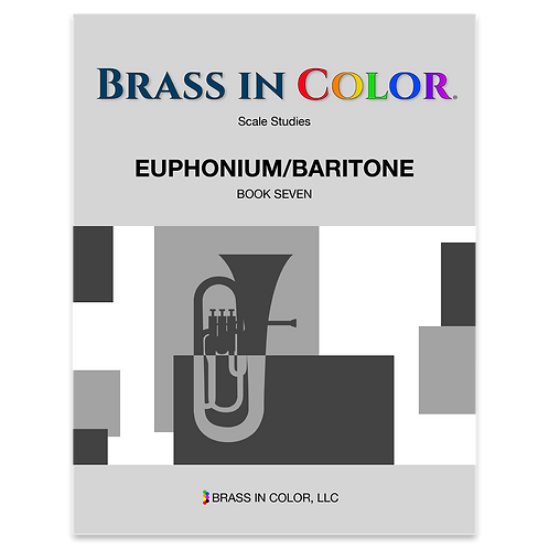 Scale Studies: Euphonium and Baritone Book 7