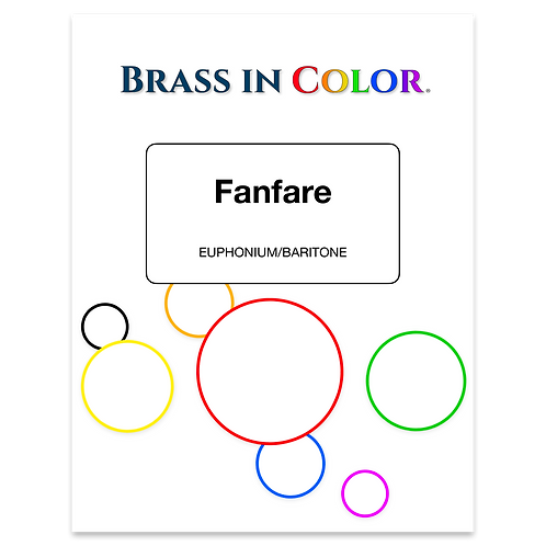 Fanfare (Euphonium/Baritone and Piano)
