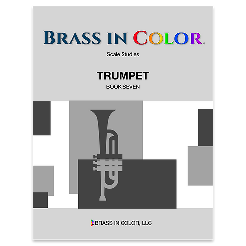 Scale Studies: Trumpet Book 7