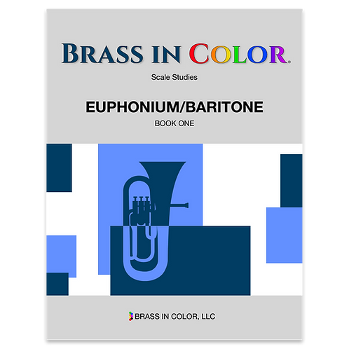 Scale Studies: Euphonium and Baritone Book 1