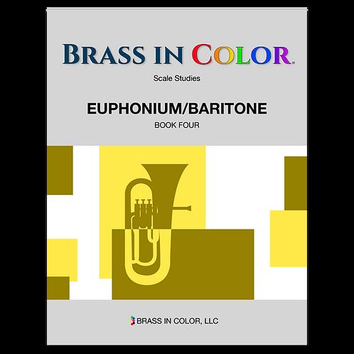 Scale Studies: Euphonium and Baritone Book 4