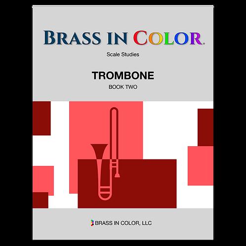 Scale Studies: Trombone Book 2