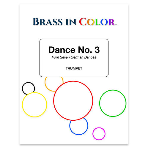 Dance No. 3 (Trumpet and Piano)