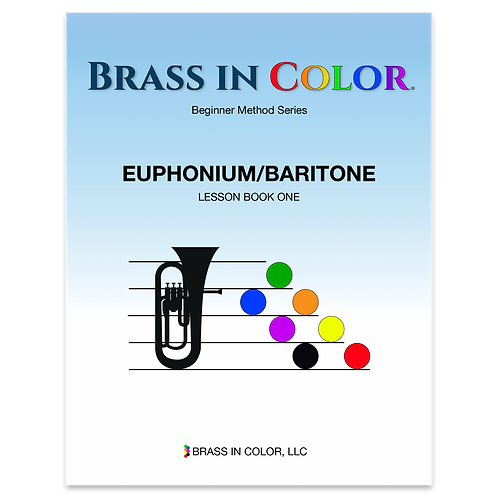 Euphonium and Baritone: Lesson Book 1