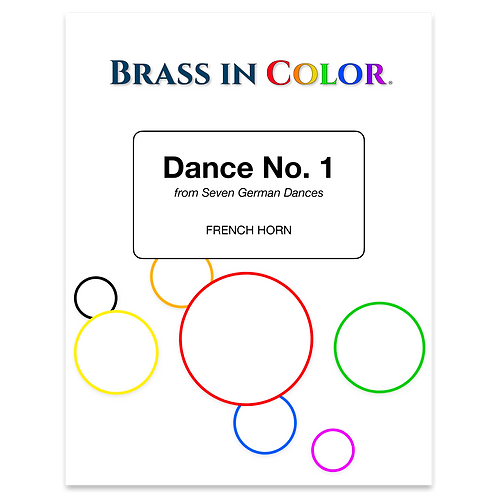 Dance No. 1 (French Horn and Piano)