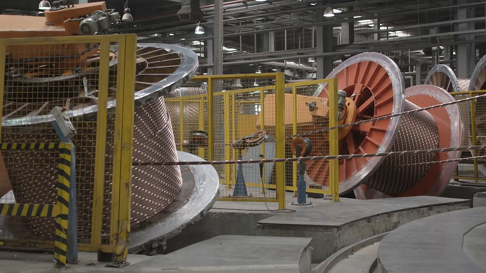 cable-drums-spinning-inside-cable-factor