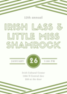 2020 Irish Lass & Little Miss Shamrock E