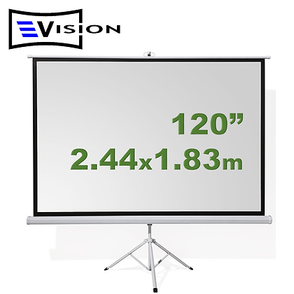 "Ecran Trípode 120"" 2.44x1.83m EVISION"
