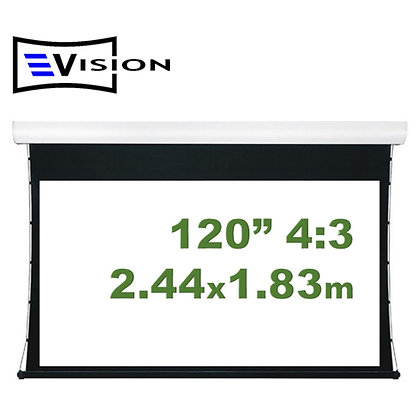 """Ecran Eléctrico Tab Tensioned 120"""" 2.44x1.83m EVISION - Techo Pared"""